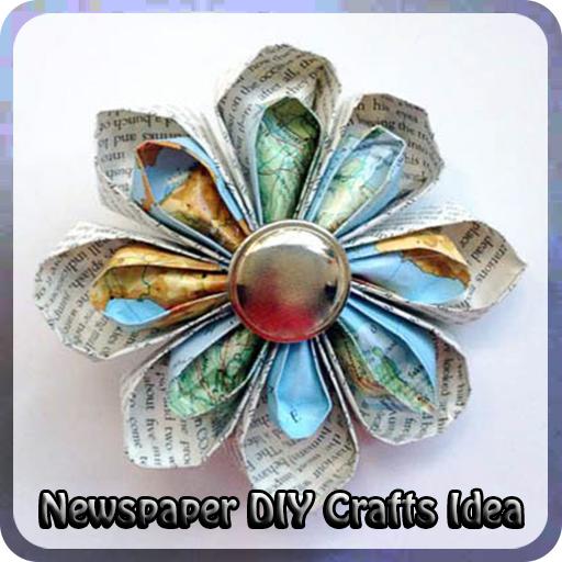 Newspaper DIY Crafts Idea