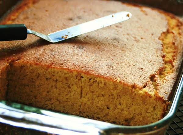 Sweet 'n Buttery Just Like Sunshine Cornbread!