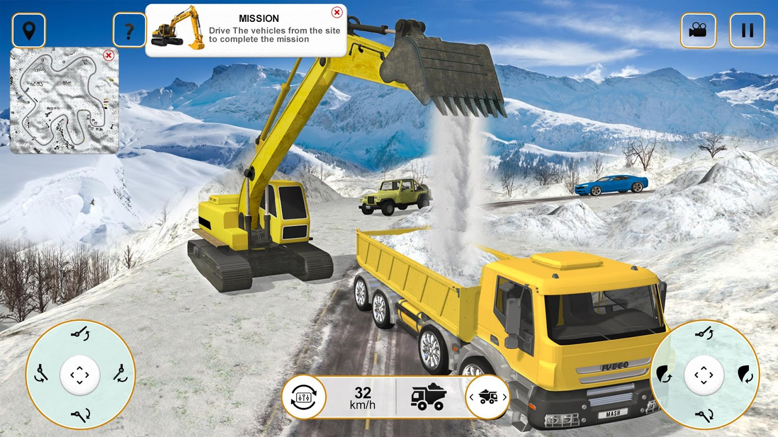 heavy excavator crane digger android apps on google play