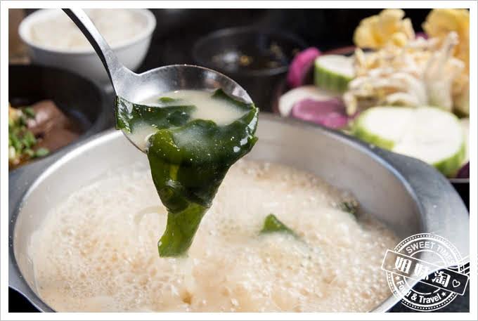 九勺涮涮鍋極道豚骨味噌鍋