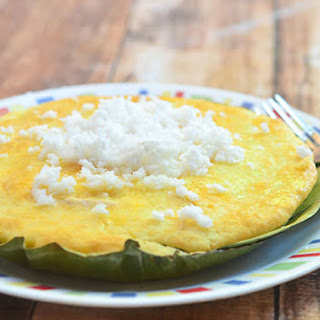 Bibingka With Salted Egg Recipes