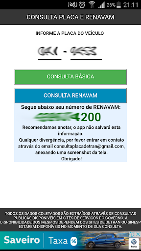 CONSULTA RENAVAM screenshot