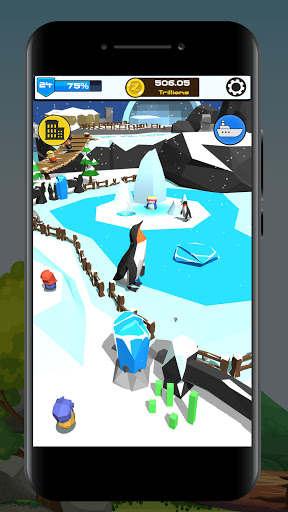 Idle Zoo 3D: Animal Park Tycoon android2mod screenshots 2
