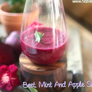 Beet Mint Apple Smoothie