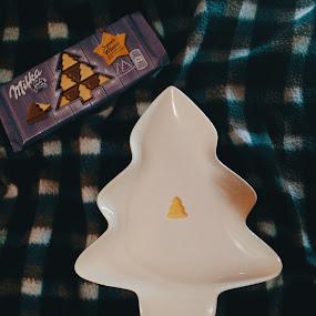 Winter coziness by Anja Popov - Food & Drink Candy & Dessert ( paid, chocolate, tree, milka, christmas )