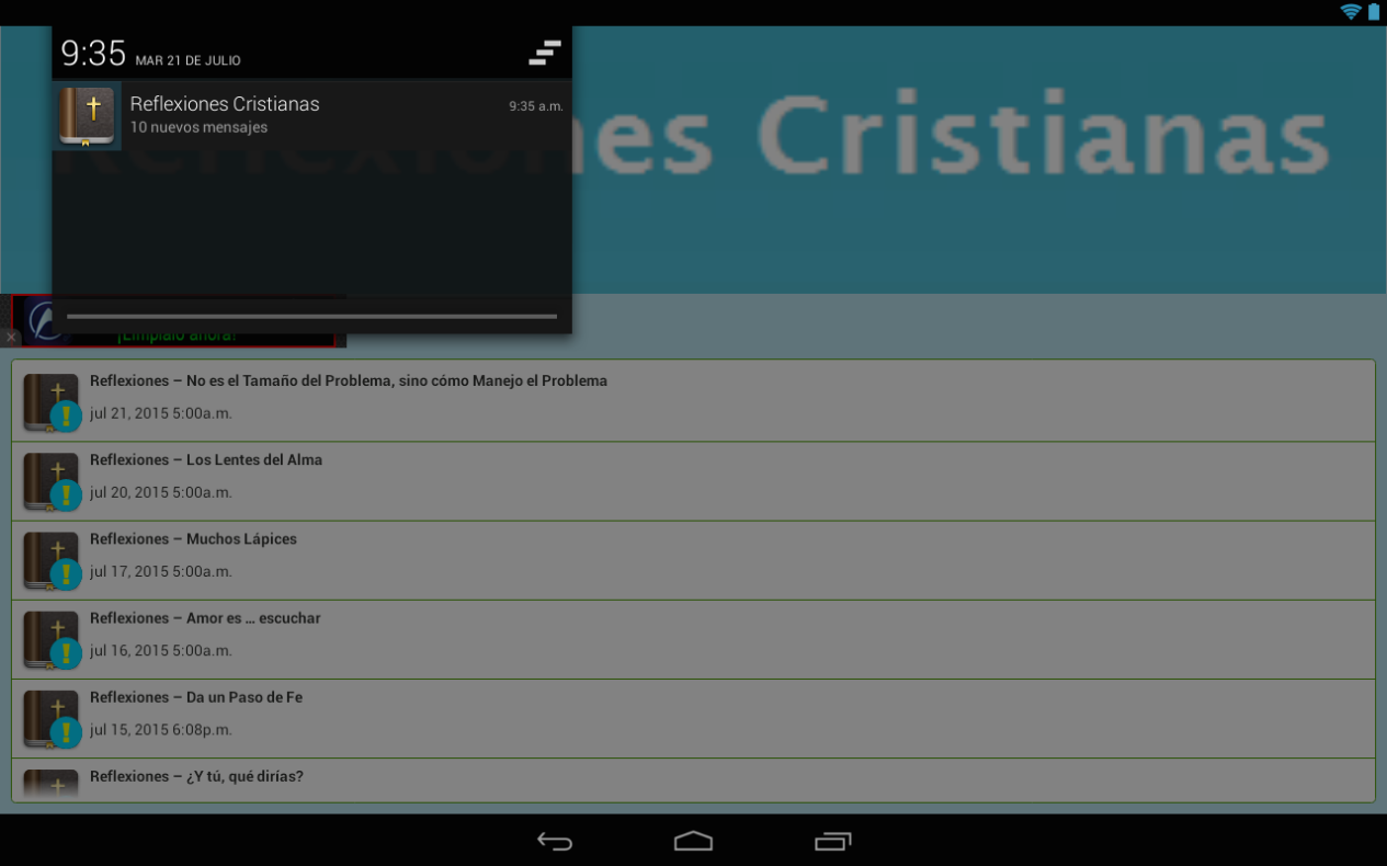 Reflexiones Cristianas- screenshot