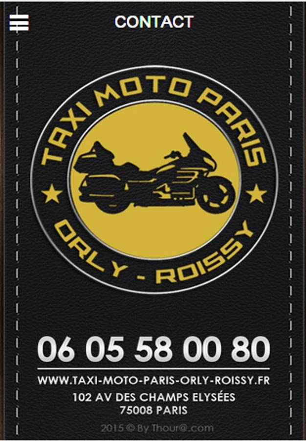 Taxi Moto Paris Orly Roissy- screenshot
