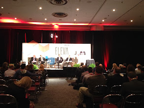 Photo: For the HGTV presentation, the panelists sat in HGTV Home seating, courtesy of Bassett. #nrf14