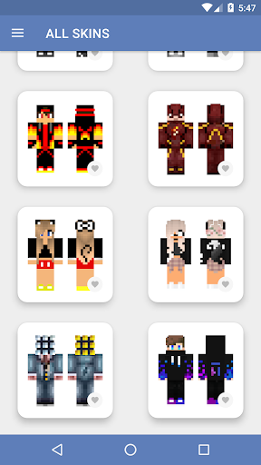 Skins for Minecraft PE (NEW SKINS) 5.0.5 screenshots 7