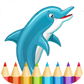 Dolphins Coloring Pages Android APK Download Free By Infokombinat