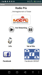 Radio Più- screenshot thumbnail