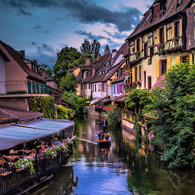 Colmar in Alsace, France by Arif Sarıyıldız - City,  Street & Park  Vistas ( little venice, france, alsace, travel, colmar )