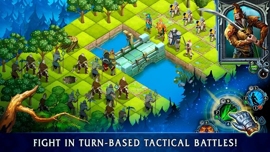 Heroes of War Magic.  Turn-based strategy 1.4.0.6