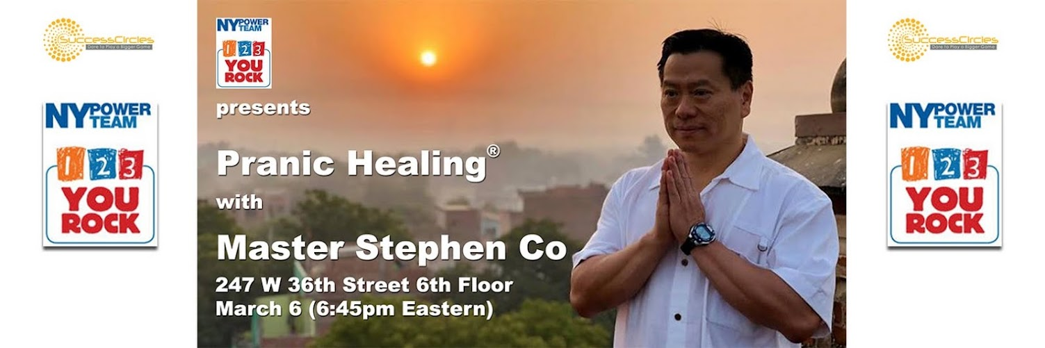 Pranic Healing® with Master Stephen Co