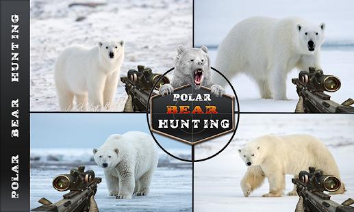 Angry Wild Bear - Polar Bear Hunting - náhled