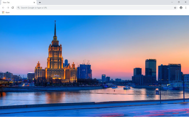 Moscow New Tab & Wallpapers Collection