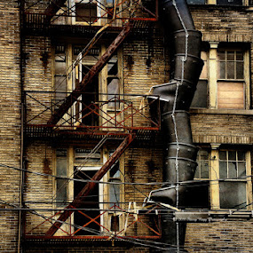 by Stacey Nagy - Buildings & Architecture Other Exteriors ( slum, building, exterior )