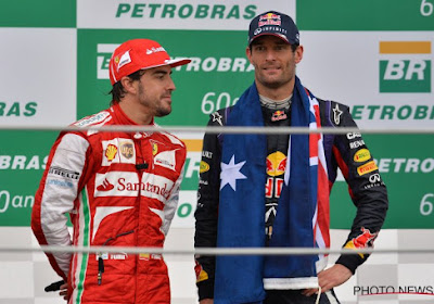 Mark Webber évoque Alonso