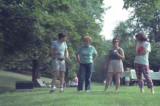 Photo: Mike Kupferschmid, Mary Maselli, Betty Alix, and Lori Doyle