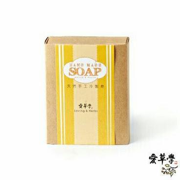 月子皂-傳遞幸福系列-黃金歲月(薑黃)-100克(全膚質.全身適用. 洗頭.臉.身.添加精油)