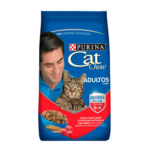 alimento para mascotas cat chow adulto carne 500gr