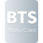 PhotoCard for BTS Icon