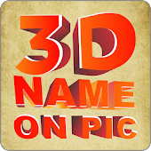 3D Name on Pics - 3D Text