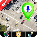 GPS Satellite - Live Earth Map & Voice Navigation icon