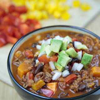 Skinny Sweet Potato and Bean Chili.