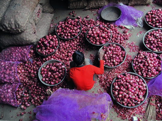 Red onions di Silvio Lorrai