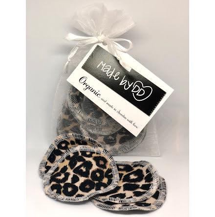 Rengöringspads Leopard i ekologisk GOTS-certifierad trikå