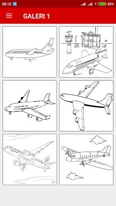 ぬりえ飛行機 Androidアプリ Applion