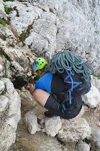 Photo: Pri sestopu v tem letnem času najdeš gorski potoček v katerem se lahko odžejaš