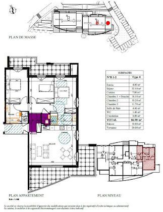 Vente appartement 4 pièces 86,9 m2