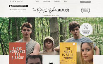 Photo: Site of the Day 24 June 2013 http://www.awwwards.com/web-design-awards/the-kings-of-summer-tumblr-site