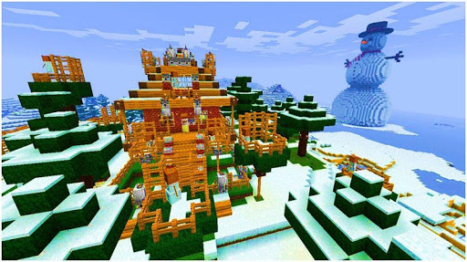 Ice Craft : Winter crafting and building 1.2.4 screenshots 1