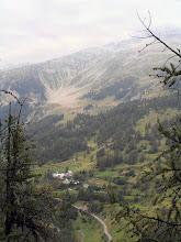 Photo: Vue sur la vallée de Rouannette et sur la Grande Autane à l'ouest