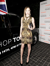 Photo: Kate Bosworth looking gorgeous in a golden Topshop dress.  Shop LA Style > http://bit.ly/XbGtM6