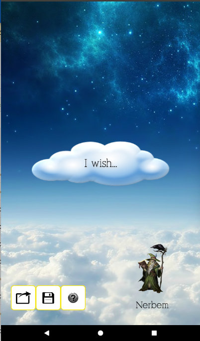 Make a wish- screenshot