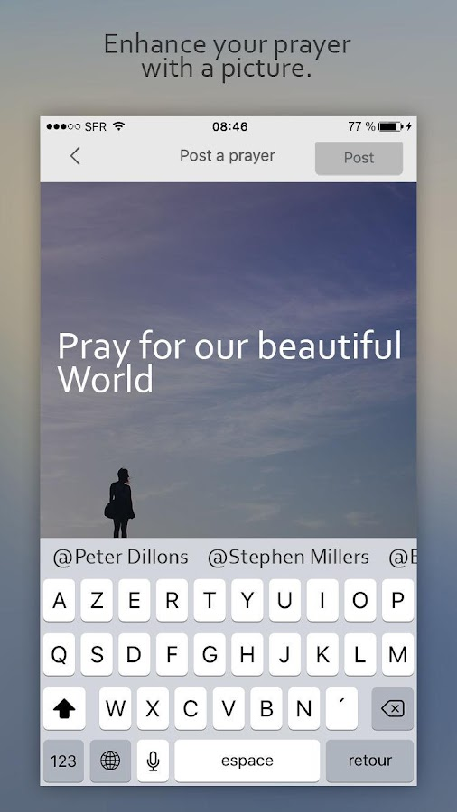 GetPray – Capture d'écran