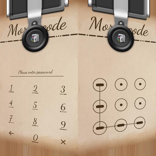 AppLock Theme MorseCode