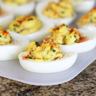 Deviled Eggs With Mustard And Mayonnaise Recipes.