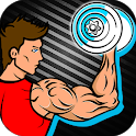 Dumbbell Workout - Exercise and Weight Training icon