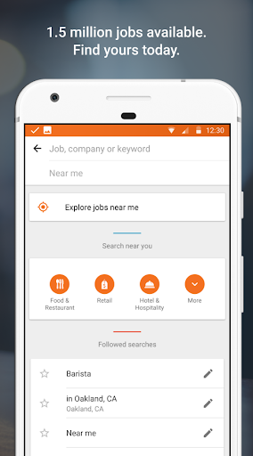 Job Search with Snagajob Screenshot