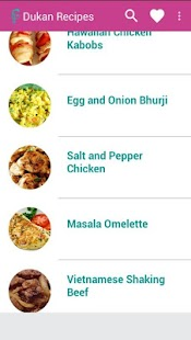 Dukan Diet Recipes- screenshot thumbnail