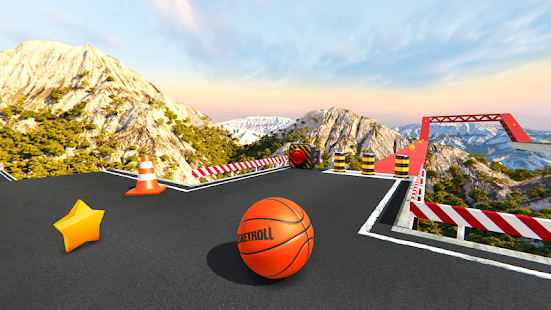 BasketRoll: Rolling Ball Game 3