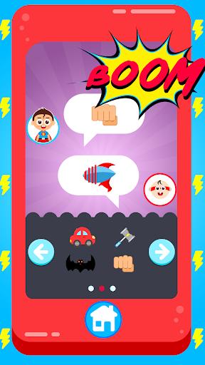 Baby Superhero Phone apktram screenshots 3