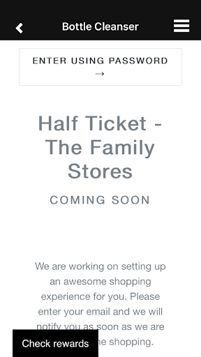 Half Ticket The Family Store by Appswiz S I (Google Play, Japan