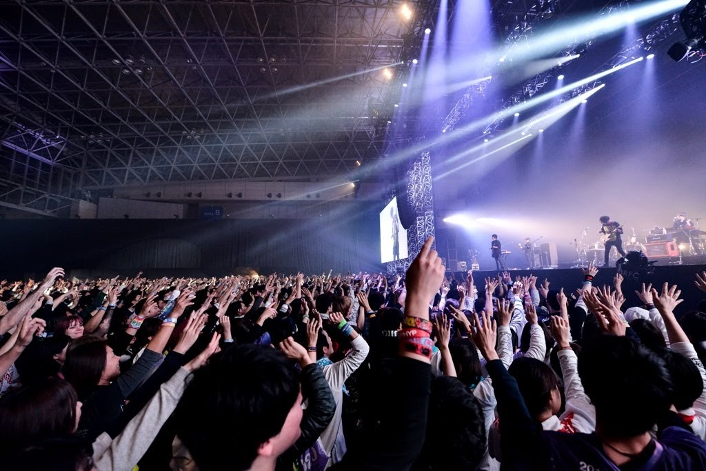 androp 2020元旦首唱在  COUNTDOWN JAPAN  19/20