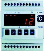 Stegregulator med 4 reläutgångar, PTC, 110/230VAC